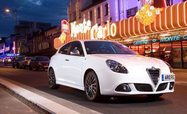 2014 Alfa Romeo Giulietta Night Front Widescreen Wallpaper