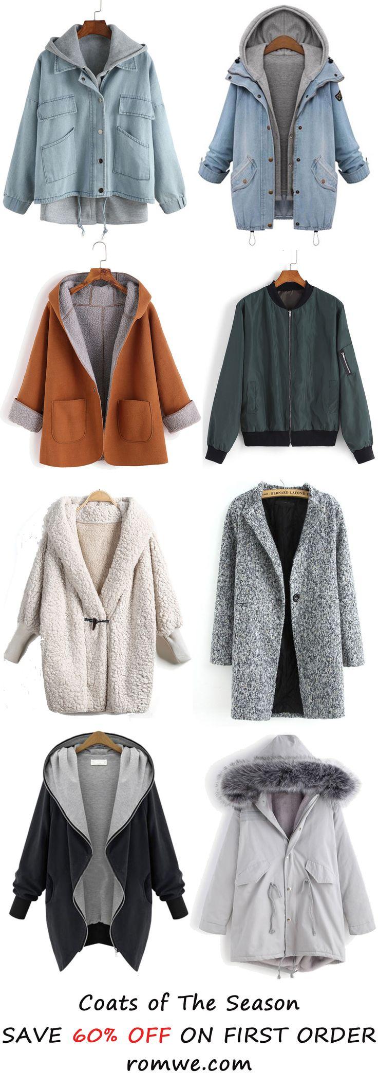 Coats of the season 2016 from romwe.com