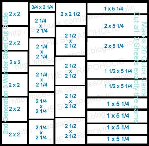 20 Quick Simple Cards