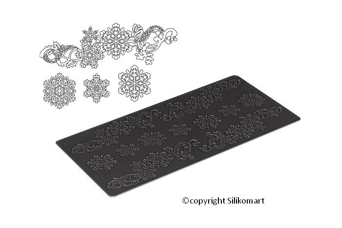 Silicone Lace Mat Winter #baking #cakestagram #dessert #cake #howtocakeit #instacake #instasweet #teaser #repost #recipes #recipe #foodvideo #foodvideos #sweets #goodeats #homecooking #instayum #yum #yummy #sweettreats #pie #mini #desserts #cheff #chefflife #siliconemould #bakingdeco