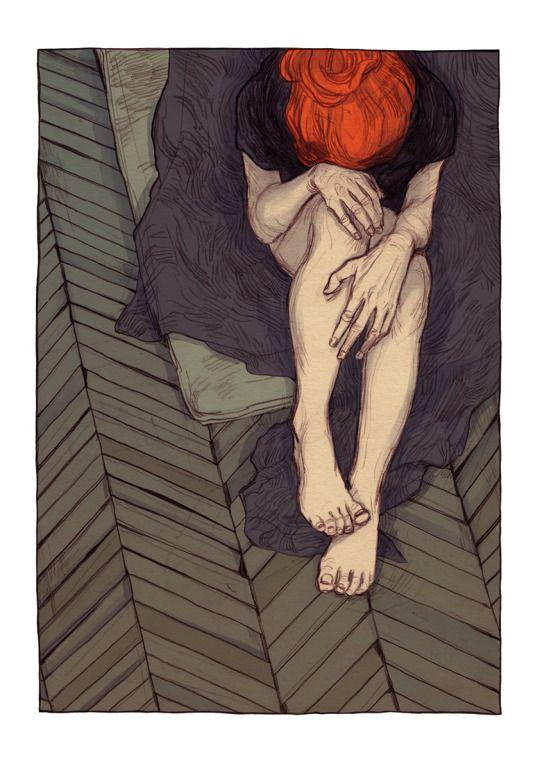Thomke Meyer Illustration - Per vivere con onore bisogna struggersi, turbarsi, battersi, sbagliare, ricominciare da capo e buttar via tutto, e di nuovo ricominciare a lottare e perdere eternamente. La calma è una vigliaccheria dell'anima. LEV TOLSTOJ