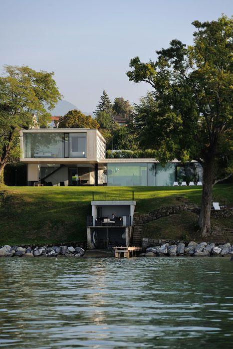 Traumhaus am see  Die 25+ besten Wohnen am see Ideen auf Pinterest | Haus am See ...