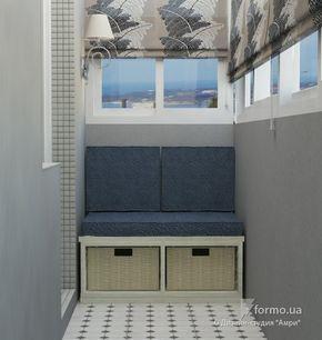 """Тихая гавань, Дизайн-студия """"Амри"""", Лоджия/Балкон, Дизайн интерьеров Formo.ua"""