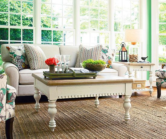 cottage style furniture living room with window seat   39 best images about Living Room Furniture on Pinterest ...