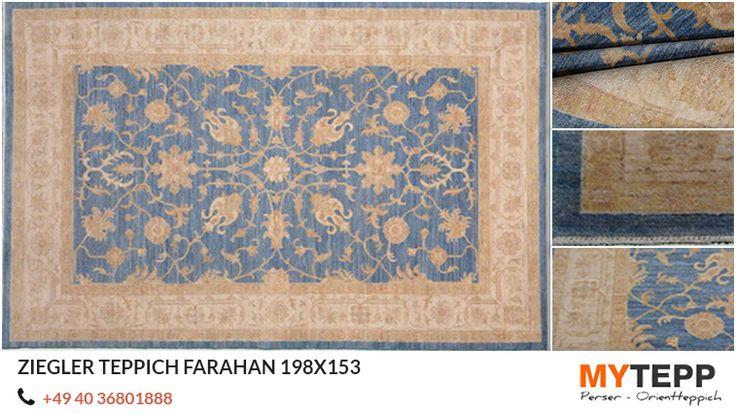 Ziegler Teppich Farahan 198x153: Wir führen eine große Auswahl an hochwertigen #Ziegler #klassische #Teppich #Farahan 100% Wolle. Bestellen Sie jetzt und sparen Sie in unserem Herbst Sale. Rufen Sie uns an 0049.40.36801888