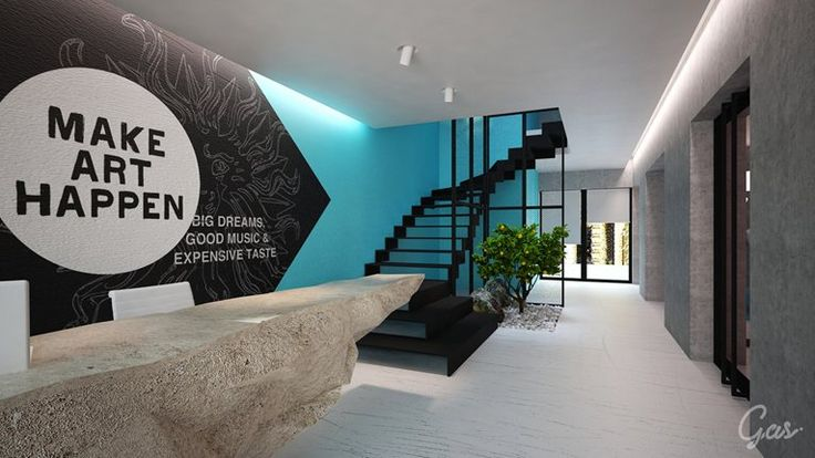 Advertising agency office concept proposal chisinau for Gas agency interior design