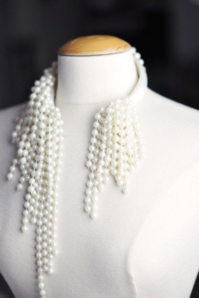 cool DIY Bijoux - DIY Asymmetrical Pearls Inspired by Dior Beaded Necklaces S/S 2014 | ...love Maegan Check more at https://listspirit.com/diy-bijoux-diy-asymmetrical-pearls-inspired-by-dior-beaded-necklaces-ss-2014-love-maegan/