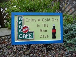 Best Man Cave Signs : Best man cave signs images