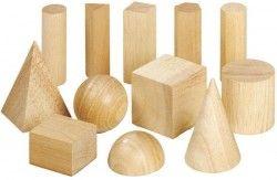 Beeldaspect vorm / stereometrische vormen (de 3D vorm van geometrische vormen).