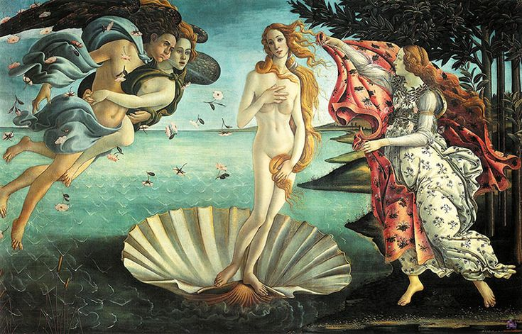 Arts nude get skinny. An Italian artist Anna Utopia Giordano has transformed great paintings to the 21st-century ideal of beauty.. It is really shocking: Sandro Botticelli, Beauty, Music Art, Births, Painting, Venus