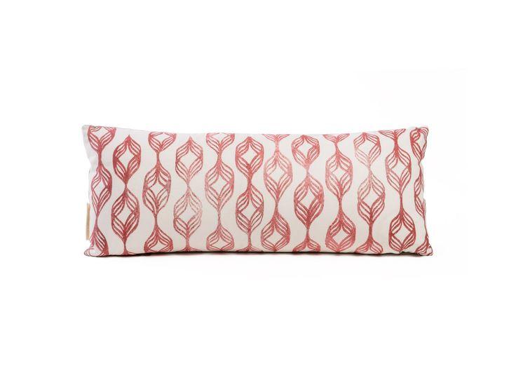 Handprinted Spiral Pillow | Cultivations