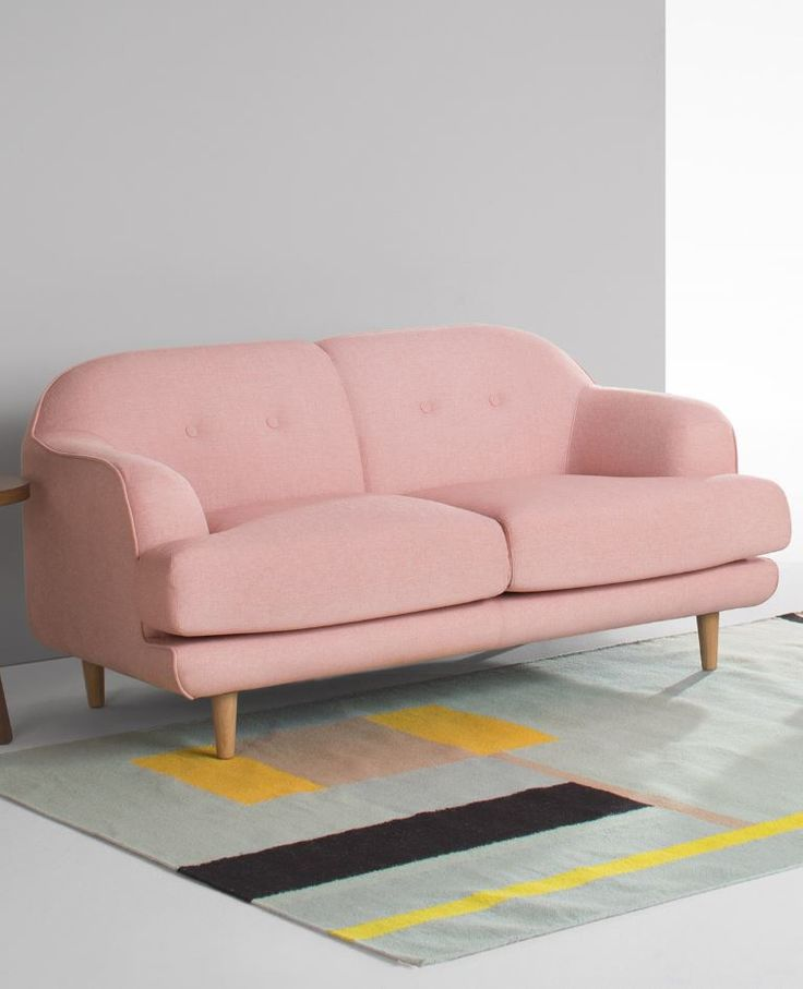Gracie 2 Seater Sofa 699 Made Com Trendsetters Rave About The Nordic Look