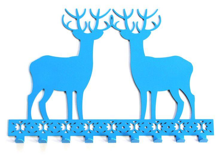 Wieszak Blue Deer