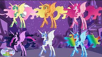 My Little Pony Games FriendsHip - Принцессы Понивиля !!! [Игры Май Литл Пони] - YouTube