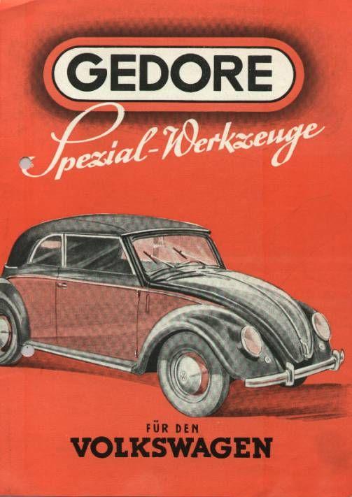 VW - 1950 - Gedore Spezial-Werkzeuge für den Volkswagen - Gedore - [1359]-1