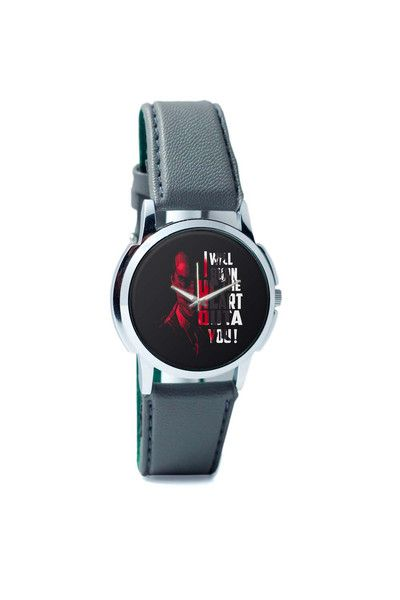 Wrist Watches India | I Will Burn the Heart Outta You Jim Moriarty Sherlock Holmes Wrist Watch Online India.