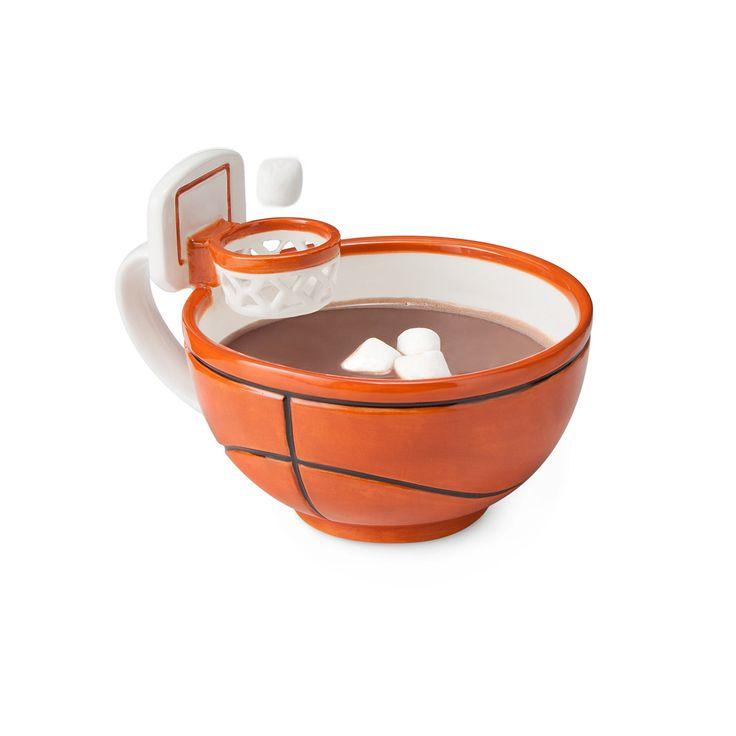 Want This New Innovation? Basketball Hoop Mug ... see more at InventorSpot.com