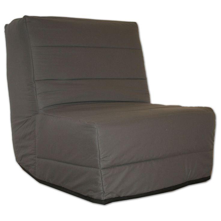 Chauffeuse BZ 1 place avec housse grise Gris - Bello - Les chauffeuses - Fauteuils et poufs - Canapés et fauteuils - Décoration d'intérieur - Alinéa