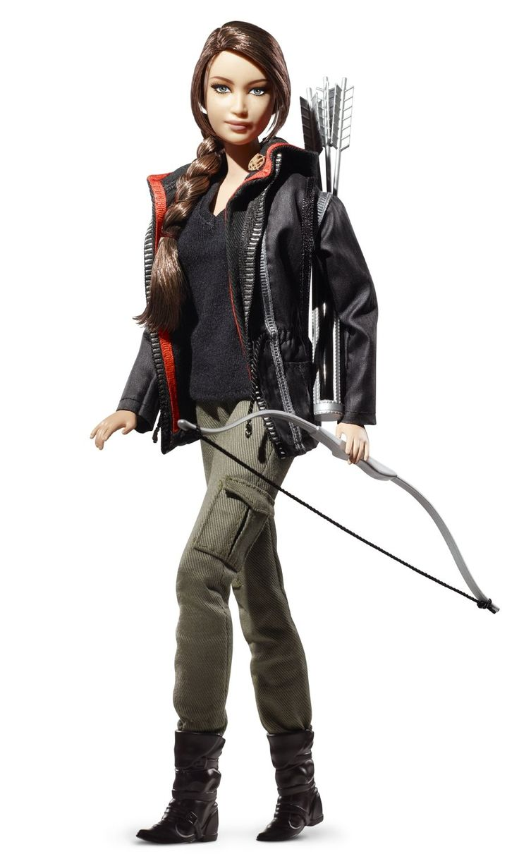 What pictures represent katniss everdeen yahoo answers - Mattel Kids Toys Hunger Games Katniss Everdeen Barbie Doll Perfect For The Hunger Games Fanatic Include This Collectible Katniss Everdeen Doll By Mattel