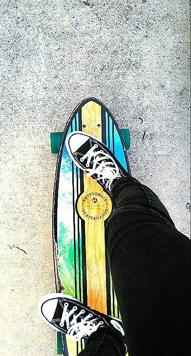 Love 2 skate all day everyday, converse style