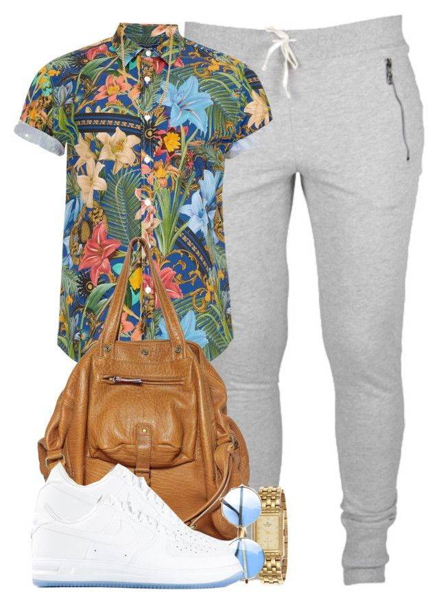 """DOPE"" Movie Inspired Look. by cheerstostyle on Polyvore featuring polyvore, fashion, style, NIKE, Jérôme Dreyfuss, Kate Spade, Claude Montana, Miss Selfridge and Topman"