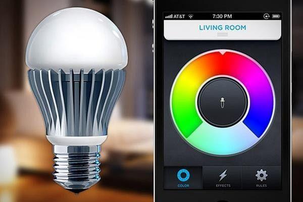 Puoi cambiare il colore della lampada!