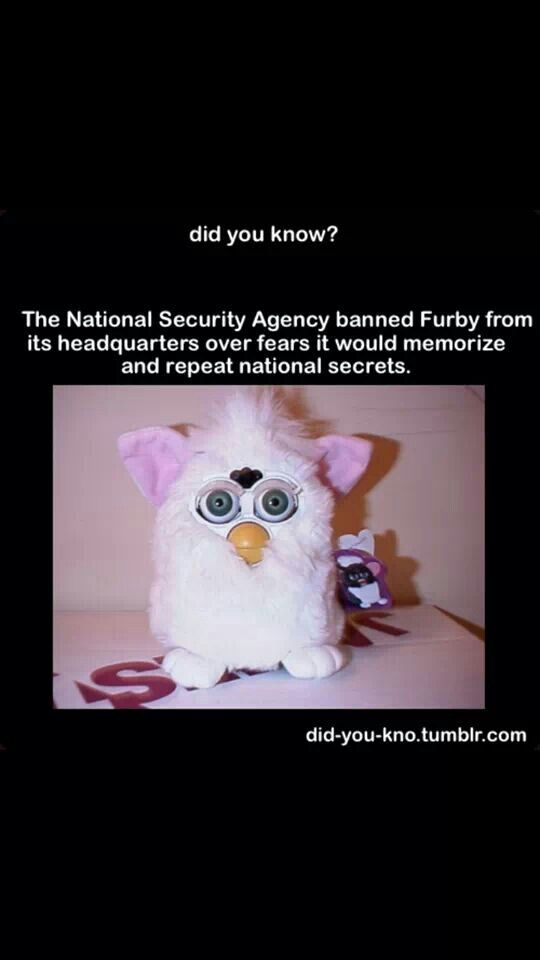 20 best Scary and Innocent Furbies images on Pinterest ...