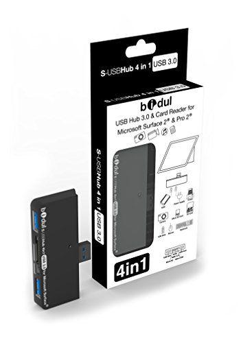 HUB USB avec 2 ports USB 3.0 + lecteur de carte 4 en 1 pour tablette Microsoft , Surface Pro, Surface 2, Surface Pro 2 et Surface Pro 3 BIDUL http://www.amazon.fr/dp/B00HWMP108/ref=cm_sw_r_pi_dp_krbbvb11DJR9H