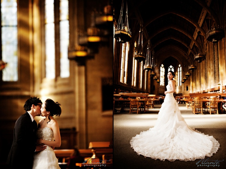 Seattle Wedding Photography At Suzzallo Library At The UW Alantephotography