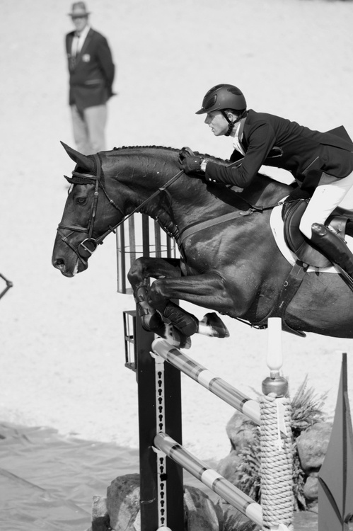 Ben Maher and Tripple X at the 2012 London Olympic Games