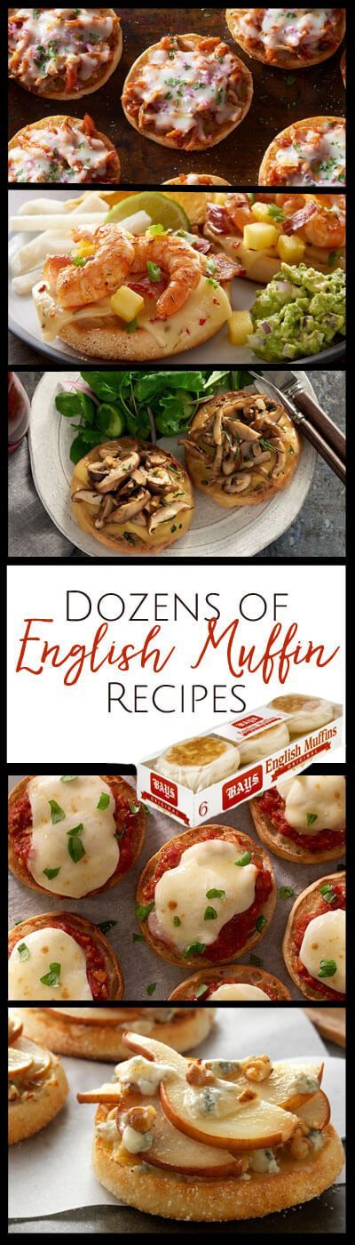 Quick and easy English Muffin recipes for breakfast, lunch and dinner - sponsored by our friends at Bays English Muffins