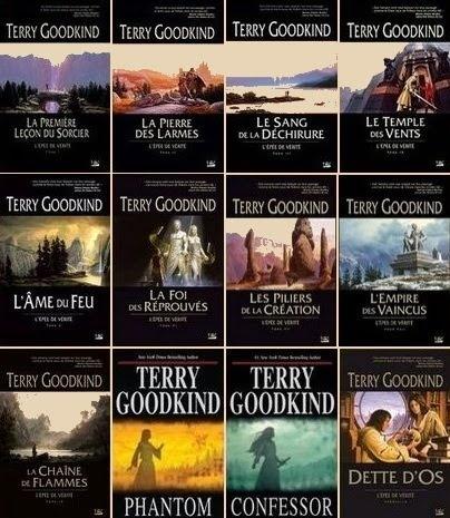 l'épée de vérité de Terry Goodkind: un excellent livre fantastique (pas pour les enfants)