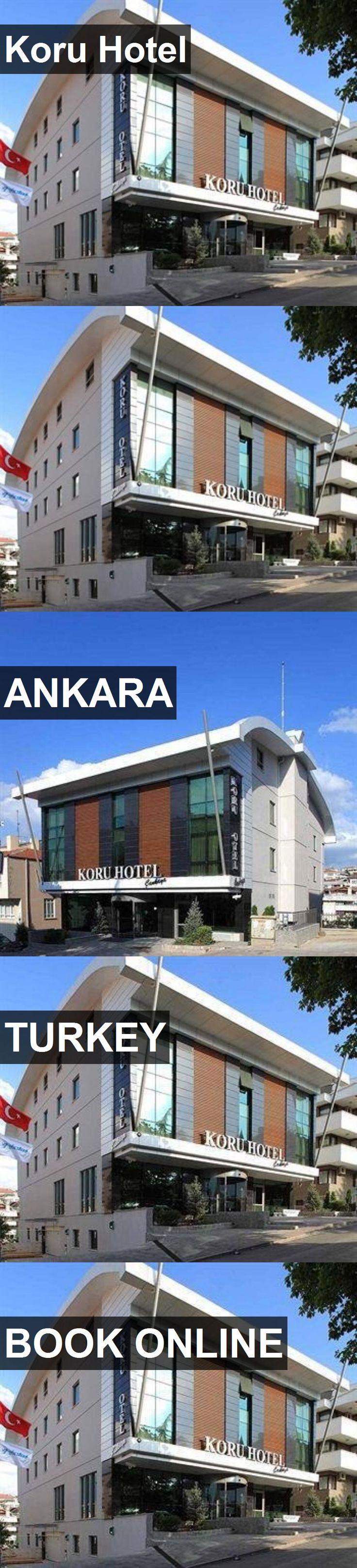 Hotel Koru Hotel in Ankara, Turkey. For more information, photos, reviews and best prices please follow the link. #Turkey #Ankara #KoruHotel #hotel #travel #vacation