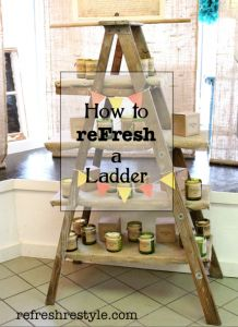 How to reFresh a Ladder - Welcome to reFresh reStyle!