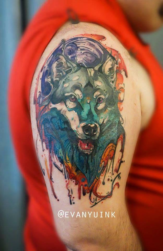 Chronic Ink Tattoos Toronto Tattoo Shop: Toronto Tattoo Abstract Painterly