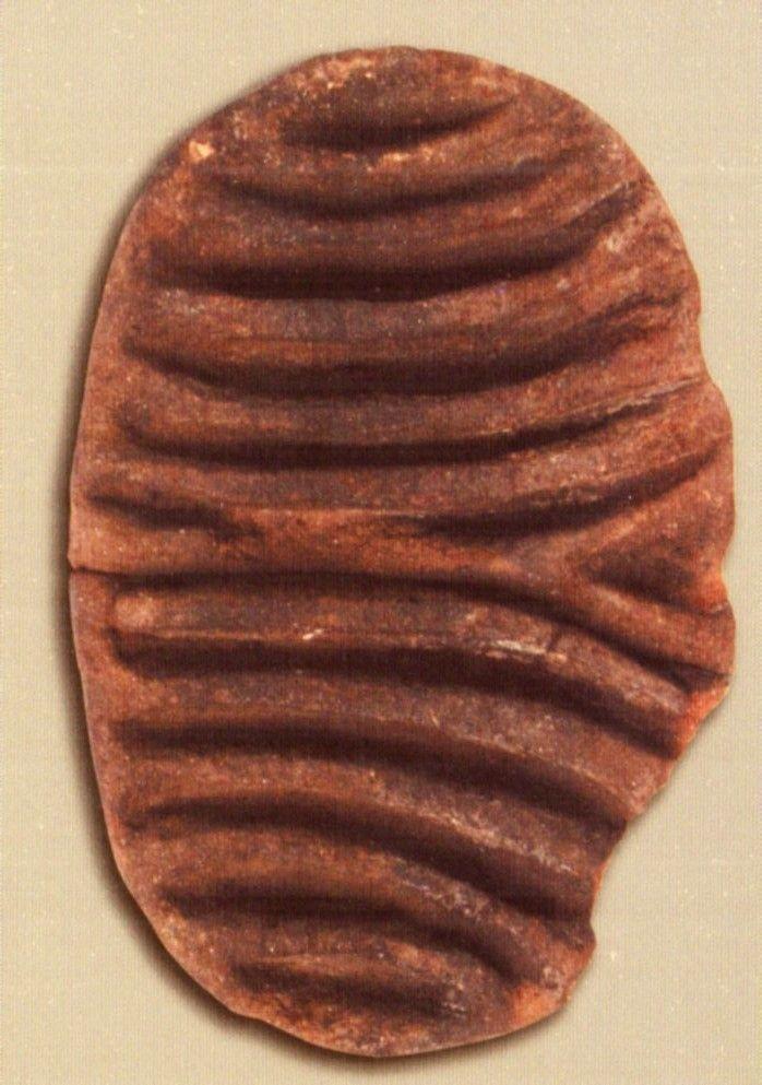 Çatalhöyük, seramik damga mührü, Konya Arkeoloji Müzesi, Ali Umut Türkcan (Erdinç Bakla archive)
