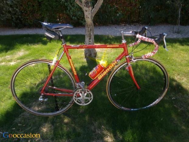 Vélo De Course Bianchi Gold Race Team - http://www.go-occasion.fr/velo-de-course-bianchi-gold-race-team/