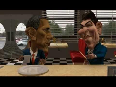 Cartoon - Ronald Reagan on Big Government Programs