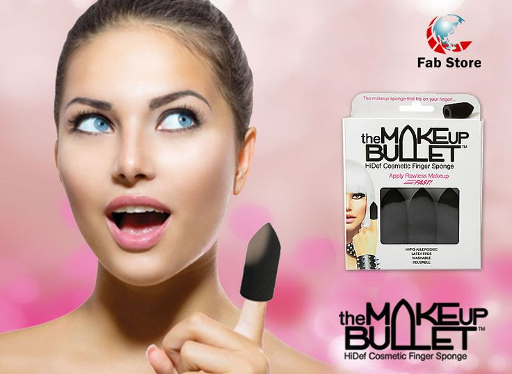 The Makeup Bullet makeup sponge allows control, speed, accuracy and flawless coverage for a variety of liquid, creme and powder cosmetics! This can be used damp or dry and is latex-free, washable and reusable. Available at Fab Store Beauty outlet in Spinneys the Pearl Qatar-Madinat Centrale.
