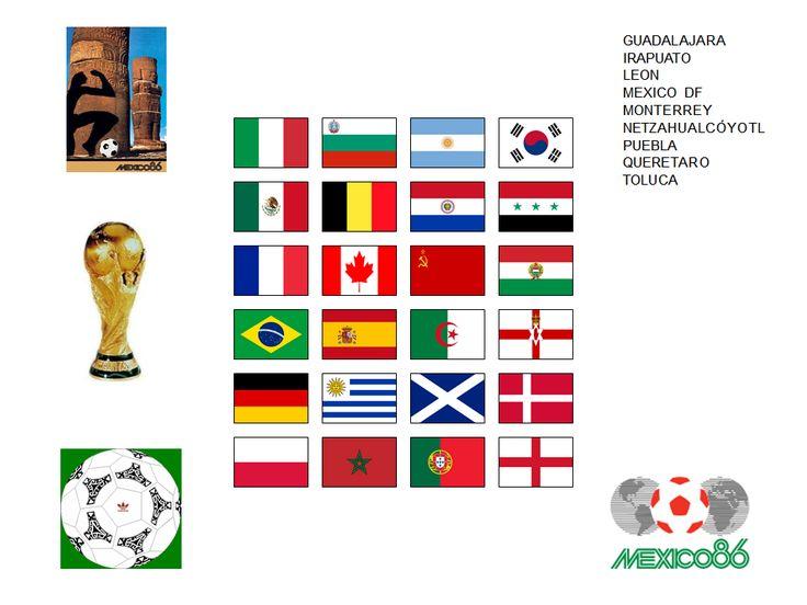 Copa Mundial de Fútbol de 1986 MEXICO