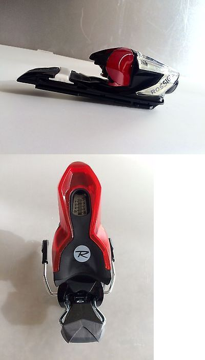 Bindings 21238: New Rossignol Red And Black Ski Bindings 2016 (1 Binding Only) -> BUY IT NOW ONLY: $30 on eBay!