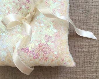 Anillo de bodas almohada almohadilla del portador del anillo