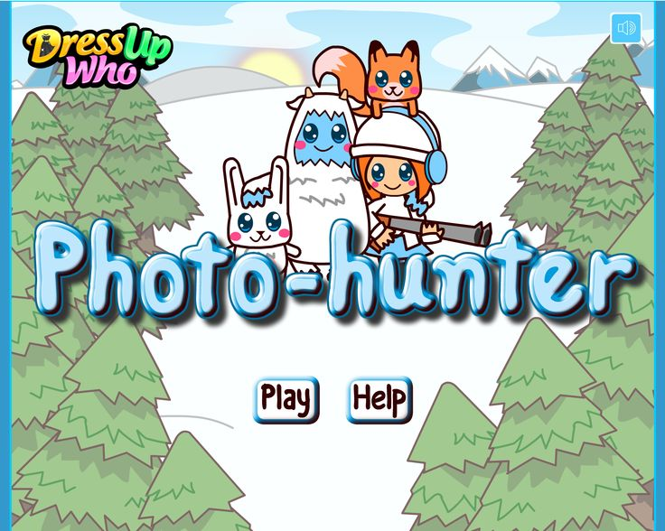 Photo Hunter Game - Today, in DressUpWho's brand-new game, we are going to test your photographer skills, ladies! We have found a beautiful place right at the top of them mountain which features the loveliest winter landscape I've ever seen and we can wait to send some skilful photographers there to take the most beautiful photos for us. In order to spice up your trip, girls, we made sure there will also be some playful little animals that you need to capture in your photos.