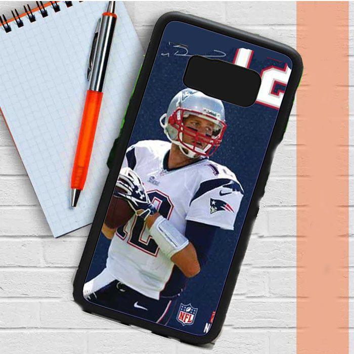 Tom Brady Jersey Bkg Autograph Samsung Galaxy S8 Plus Case Casefreed