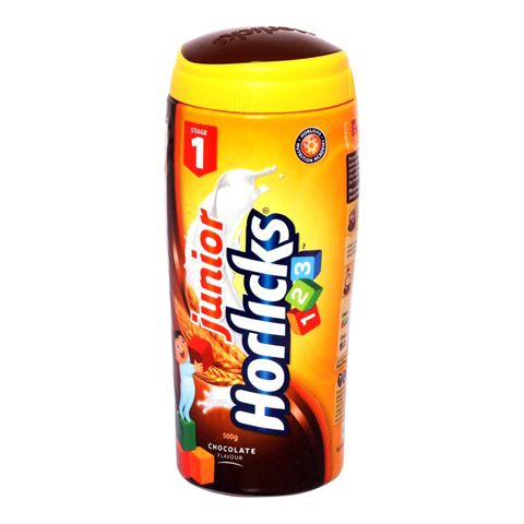 Junior Horlicks 123 Stage 1 Chocolate Jar