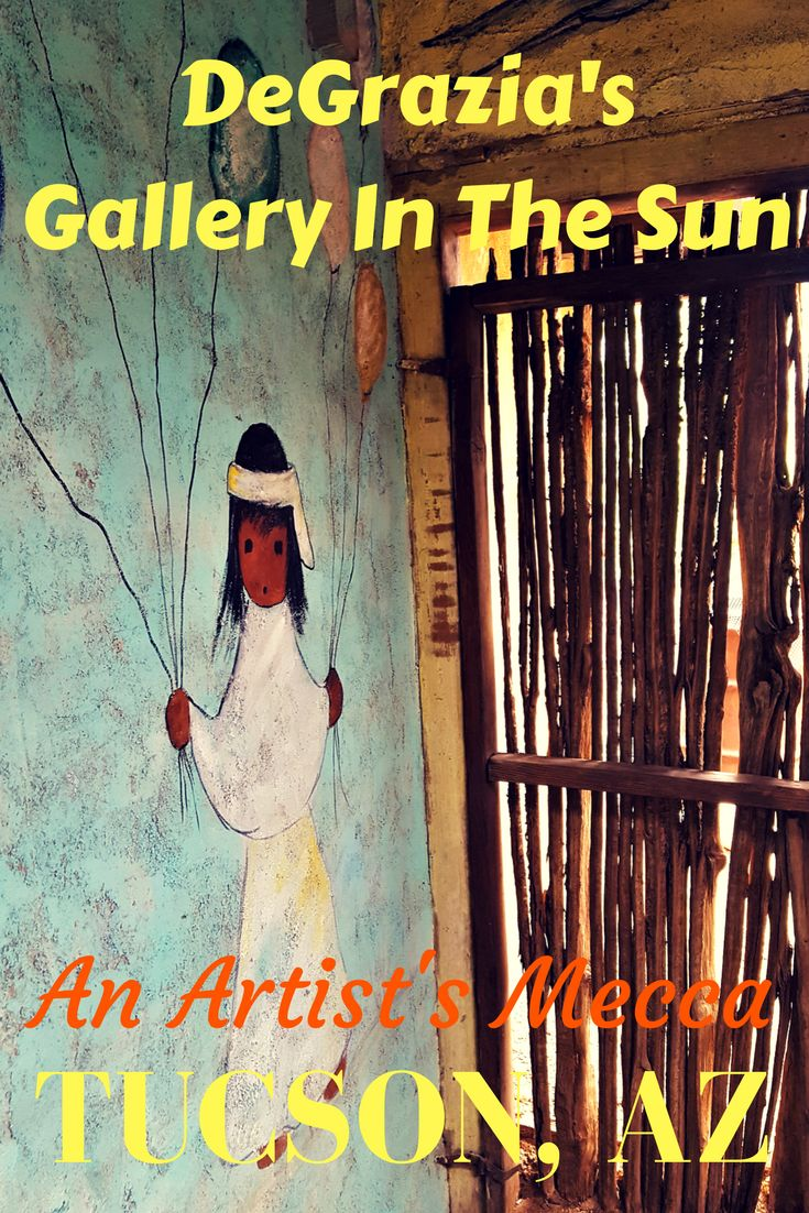 Degrazia's Gallery in the Sun is an artist mecca located in Tucson, Arizona. It should be included on your list of top things to do in Arizona!
