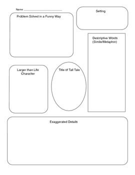 Best 25 tall tales ideas on pinterest tall tales activities a graphic organizer that can be used as a prewrite for tall tale writing created pronofoot35fo Gallery