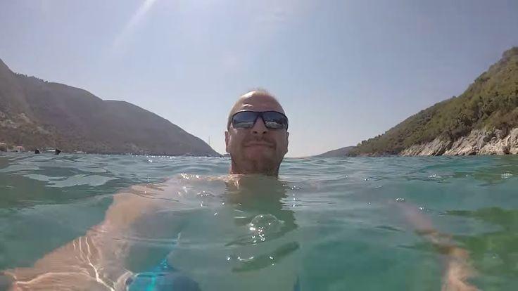 παραλία Μικρός Γιαλός στην Λευκάδα | #VLOG