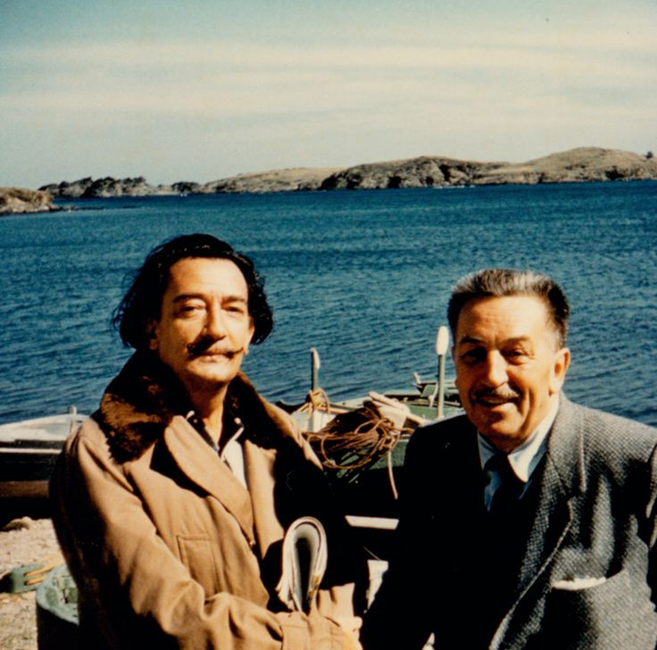 """Architects of the Imagination"" Highlights Disney and Dalí's Unlikely Friendship"