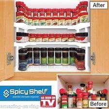 Spicy Shelf As Seen On Tv Organize Helpful Hints
